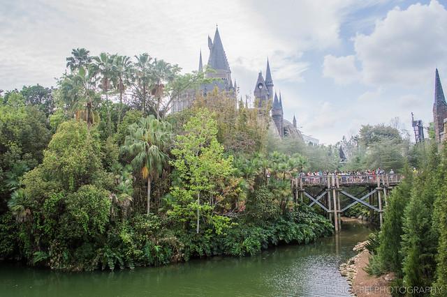 Hogwarts Castle Universal Studios Orlando Harry Potter World