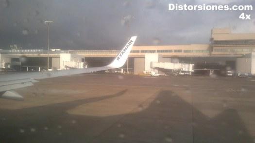 Secuencia completa del despegue en el aeropuerto de Gran Canaria