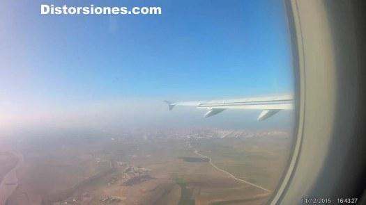 Despegando en Madrid para ir a Gran Canaria