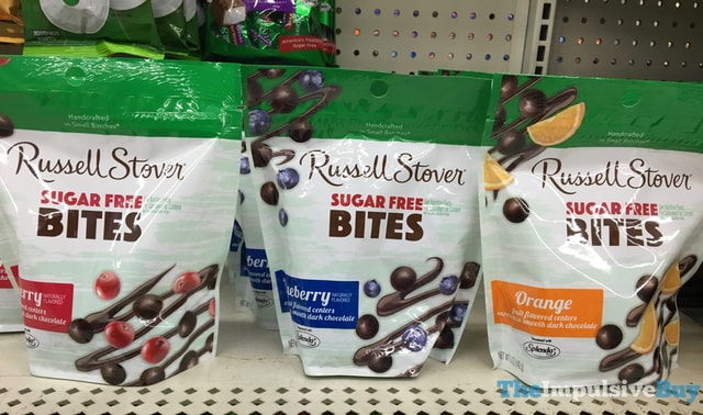 Russell Stover Sugar Free Bites (Cranberry, Blueberry, and Orange)