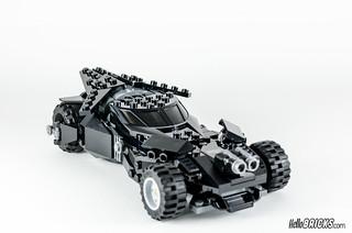 REVIEW LEGO 76045 DC Comics Batman Kryptonite Interception 24