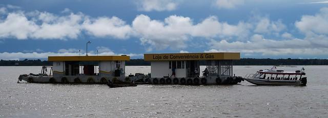 rio negro amazon petrol station