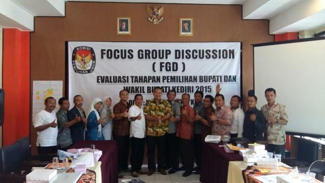 FGD KPU Kabupaten Kediri (29/3)