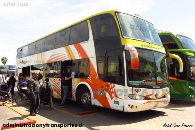 Atacama Vip | La Serena | Marcopolo Paradiso 1800 DD - Volvo (CFFY72) (2102)