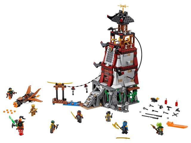 Nouveautés LEGO Ninjago 70594 The Lighthouse Siege