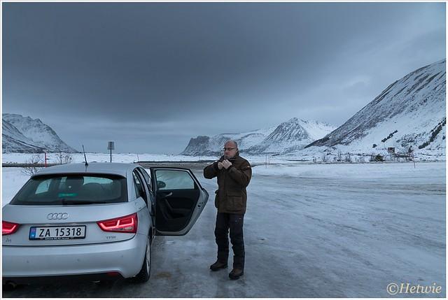 ijs op de parkeerplaats (HP003488)