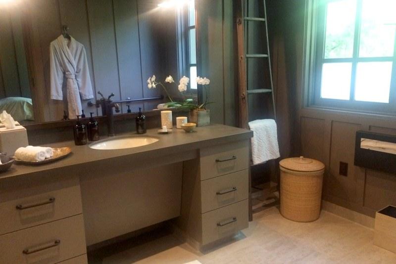 Private treatment suite