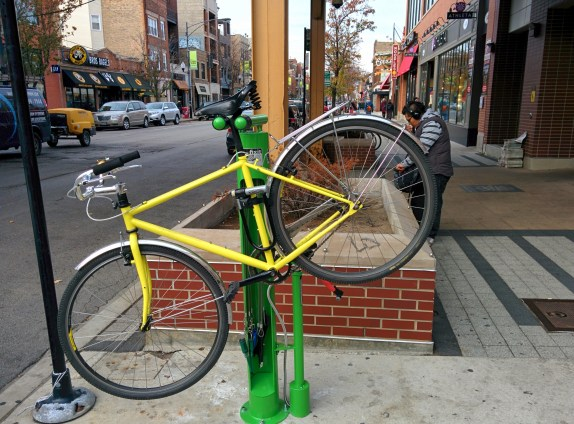 Bike Fix-It Stand