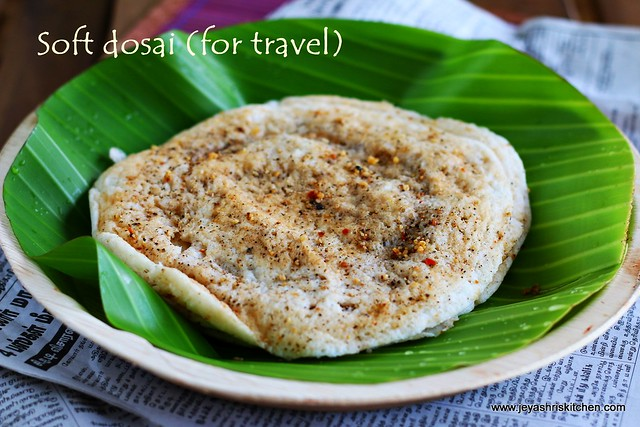dosa for travel