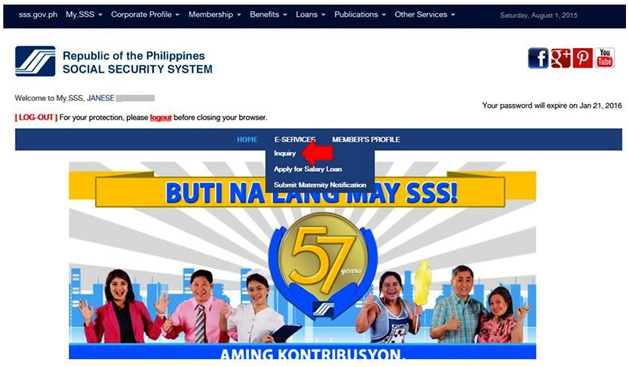 Check SSS Loan Eligibility 1