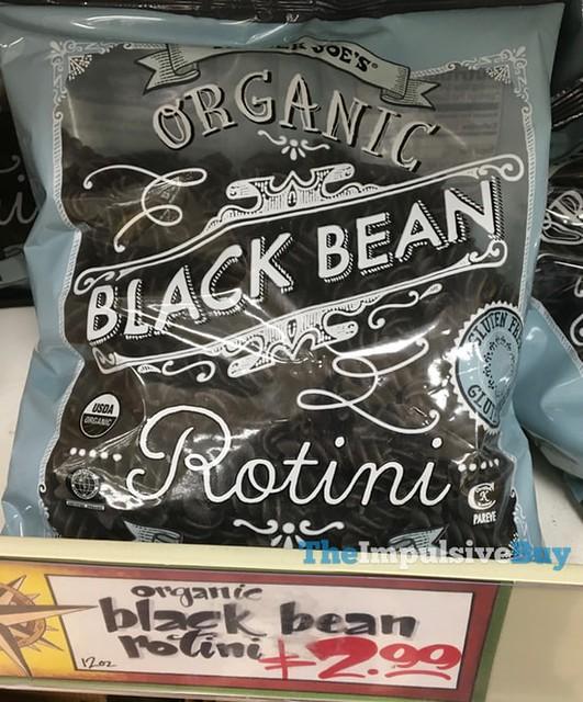 Trader Joe's Organic Black Bean Rotini