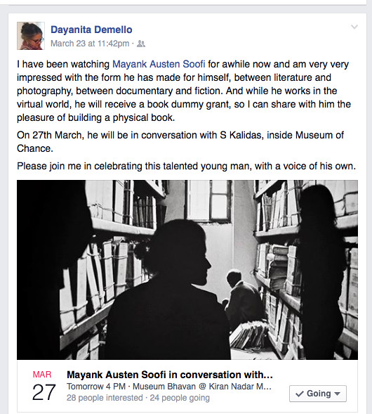 City Notice - Artist Dayanita Singh Notices The Delhi Walla, Museum Bhavan, Saket