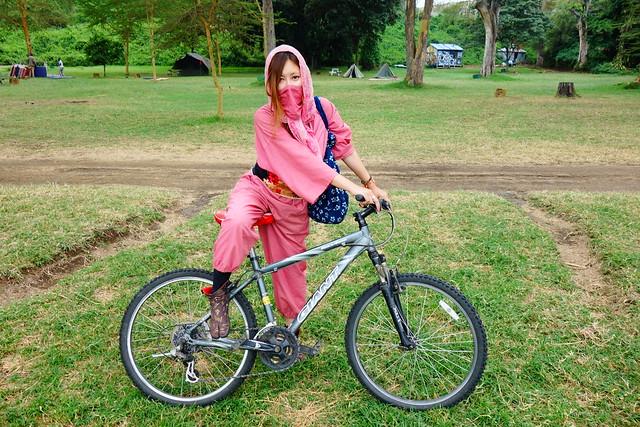 自転車サファリ