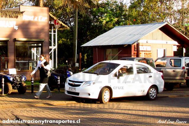 Taxi Isla de Pascua | Chevrolet Sail (GYDF52)