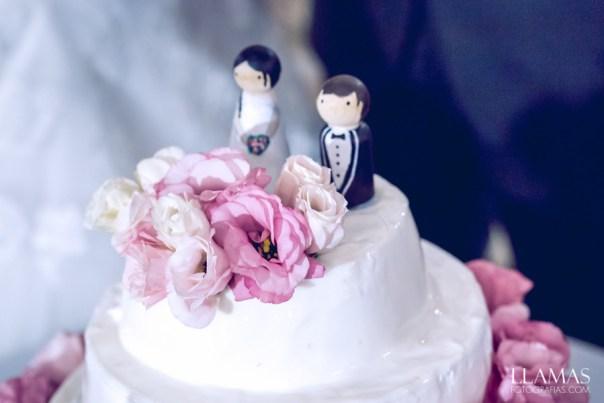 Muñecos boda tarta