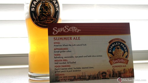 Stanley Park Brewing SunSetter Summer Ale