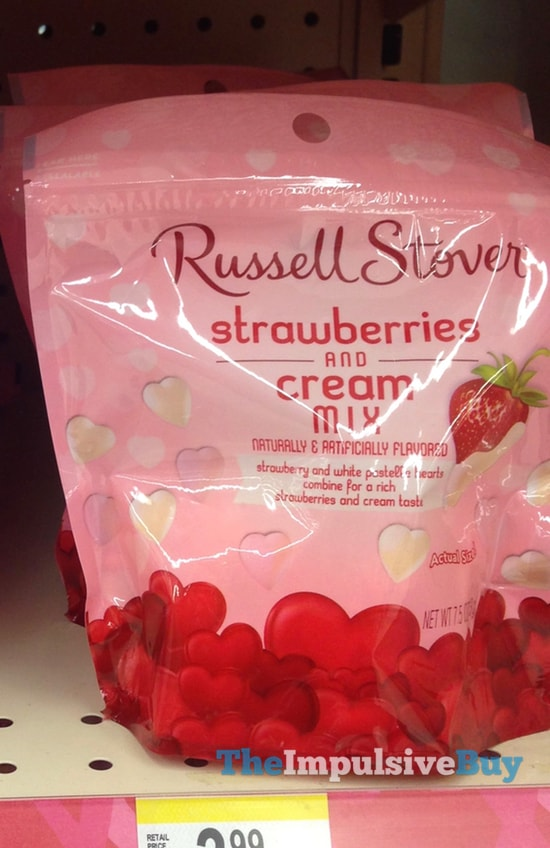 Russell Stover Strawberries and Cream Mix