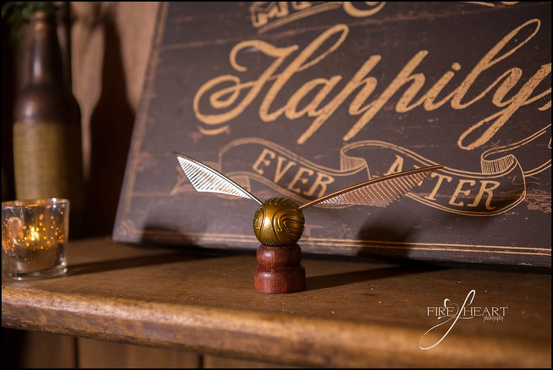 A Harry Potter meets Lord of the Rings wedding as seen on @offbeatbride #harrypotter #lotr #weddings