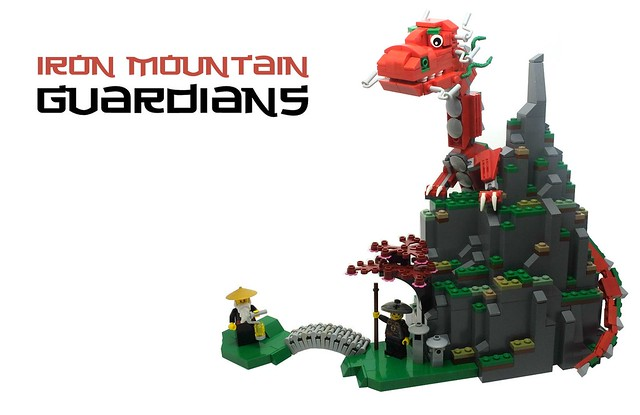LEGO Dragon - Iron Mountain Guardians