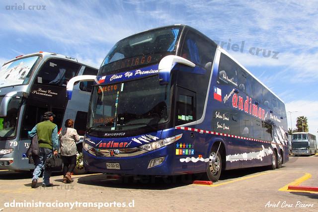 Nueva Andimar Vip | La Serena | Marcopolo Paradiso 1800 DD - Scania (HJGG32)