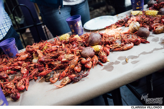 Crawfish at Little Miss Whiskey