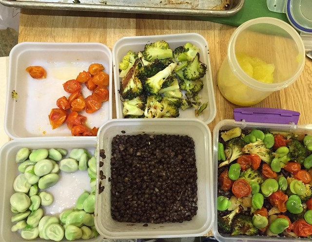 Vegetable prep/meal prep