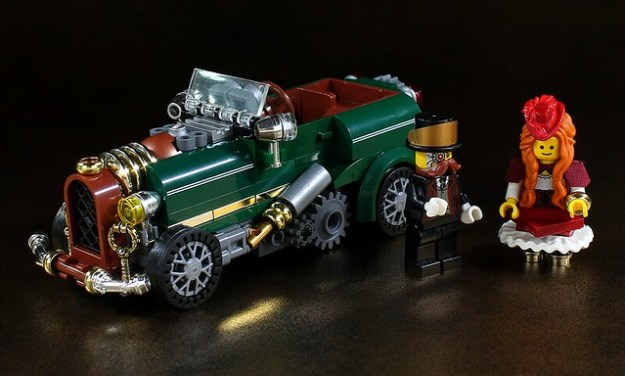 Steampunk car