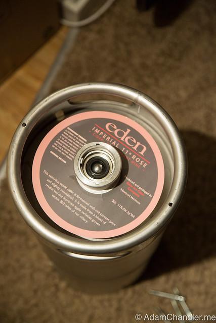Eden Cider Rose Imperial Sparkling Currant Cider - Keg