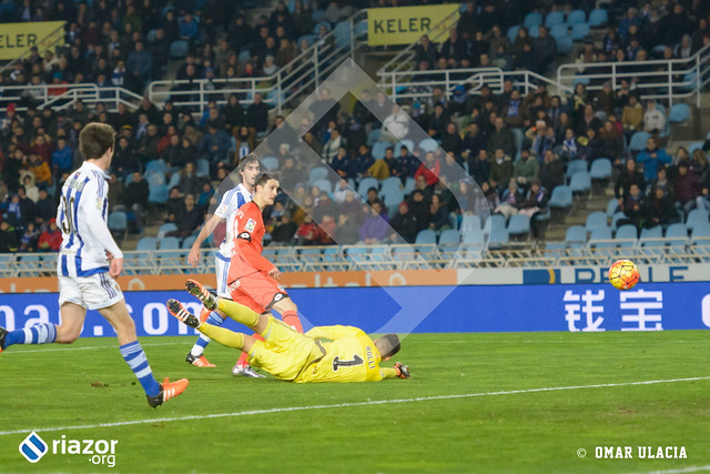 Liga BBVA. Real Sociedad 1 - R.C.Deportivo 1
