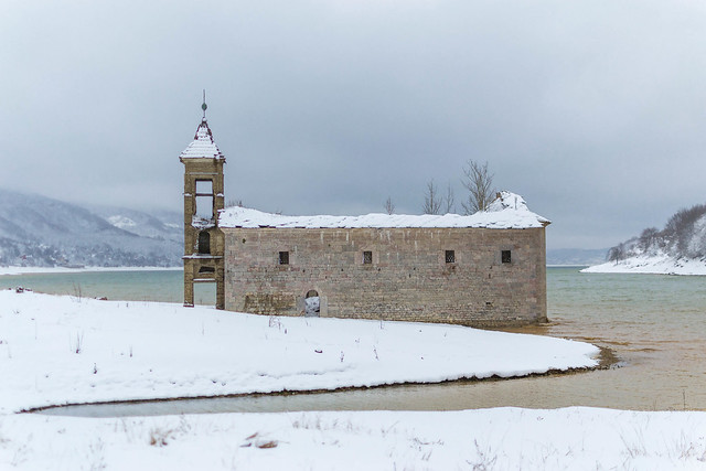 Church of St Nicholas in Mavrovo Lake, Republic of Macedonia