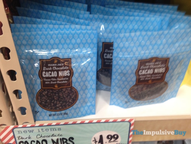 Trader Joe's Dark Chocolate Cacao Nibs