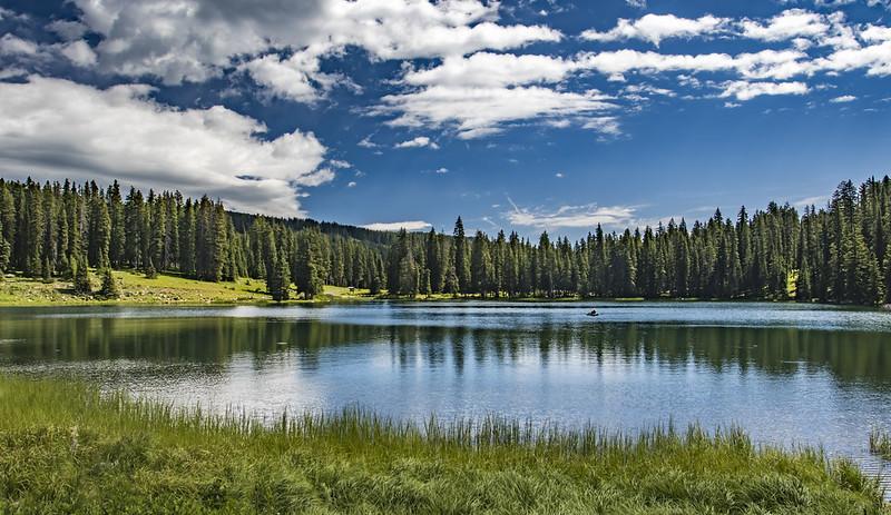 Lake on the top of Grand Mesa