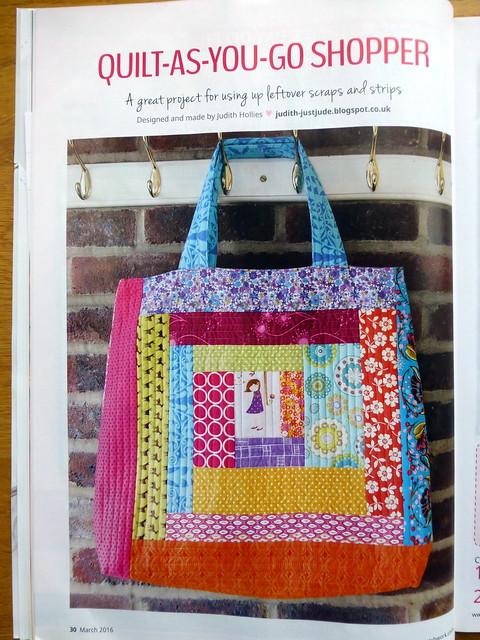 Qayg bag for Popular Patchwork Mar16