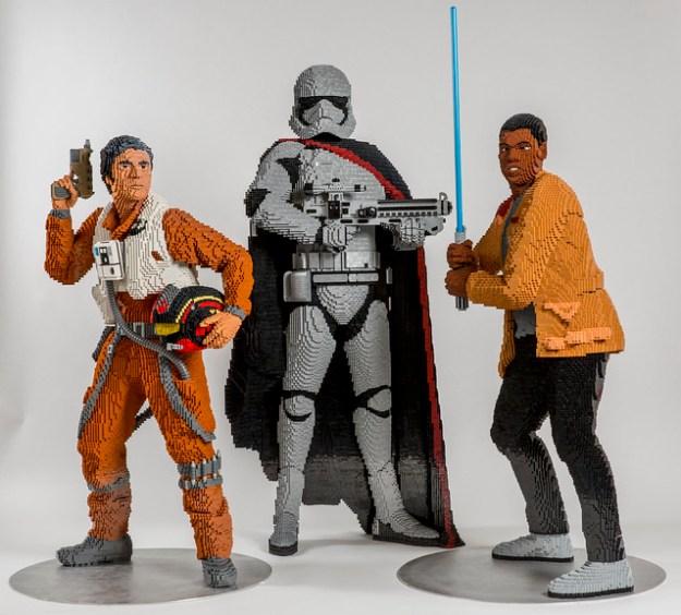 LEGO Star Wars Life Size Sculptures