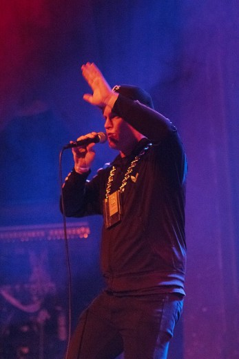 MC Lars at Denver's Bluebird Theater, 2016