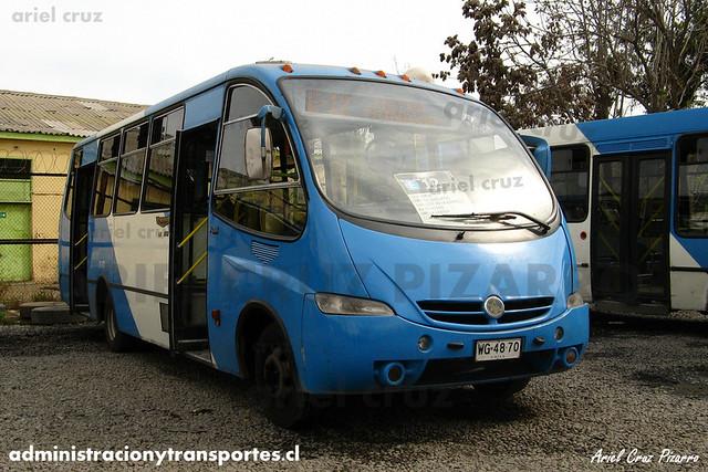 Transantiago (E12) - Unitran - Metalpar Pucará Evo / Mercedes Benz (WG4870)