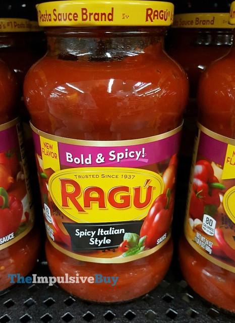 Ragu Spicy Italian Style Sauce
