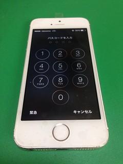 14_iPhone5Sのフロントパネルガラス割れ
