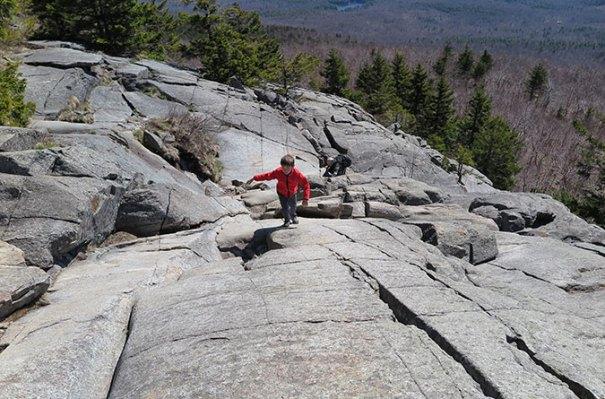 White Dot Trail Rock Scramble 4