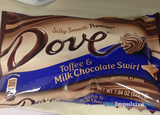 Dove Toffee & Milk Chocolate Swirl Promises