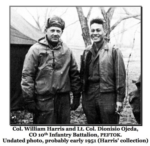 Harris And Ojeda Would Go On To Be A Formidable Leadership Team For The 65th Regiment