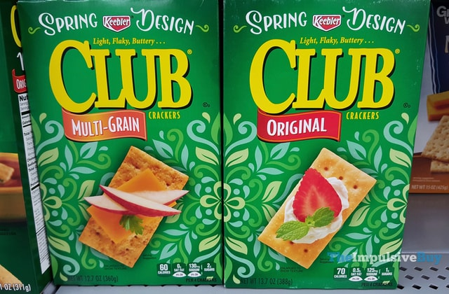 Keebler Spring Design Club Crackers