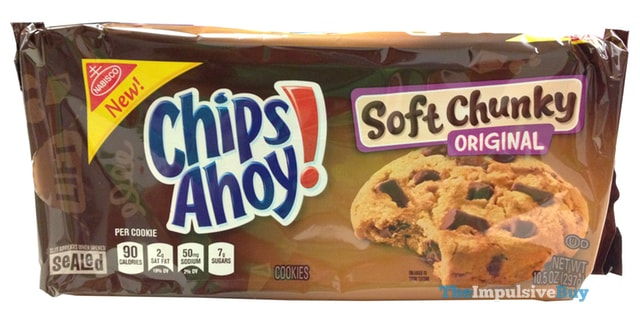 Chips Ahoy Soft Chunky Original Cookies