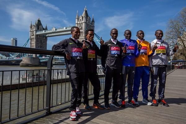 Atletas elite Maratón de Londres
