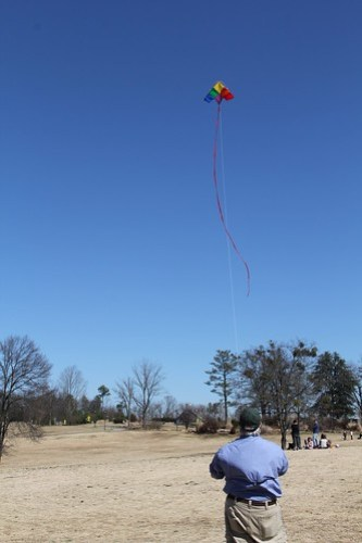 Kite Flying at Legacy Park