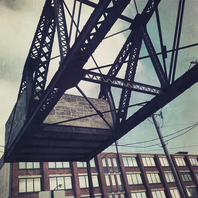 140 ton Counterweight, Cherry Ave Bridge