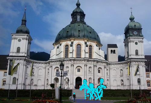 Fachada Basilica de Ettal