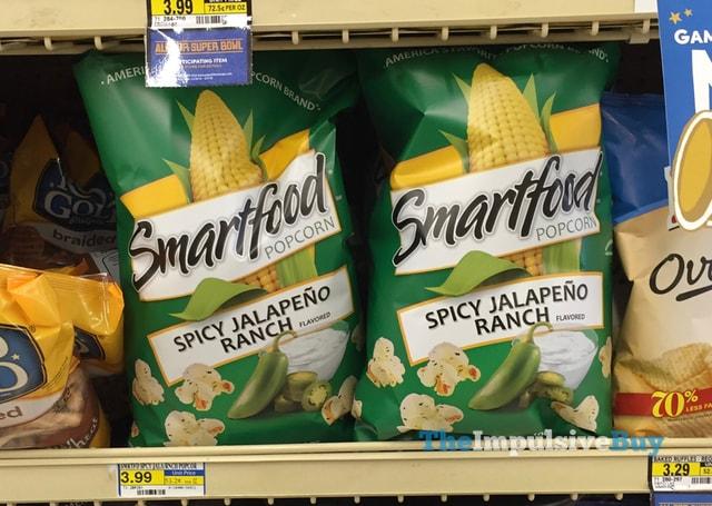 Smartfood Spicy Jalapeno Ranch Popcorn