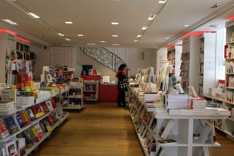 Photo Essay - La Hune Bookstore Part II, Paris