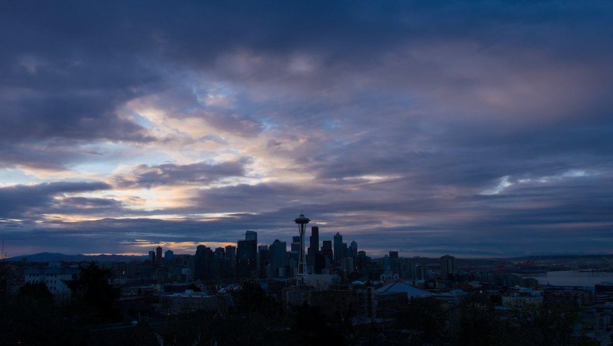 SeattleSunsetKerryPark1